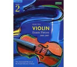 SELECTED VIOLIN Exam pieces...