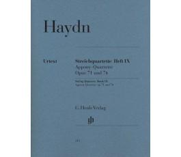 HAYDN STREICHQUARTETTE HEFT...
