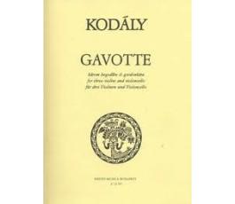 KODÁLY GAVOTTE