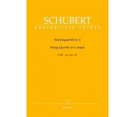 SCHUBERT STRING QUARTET IN...