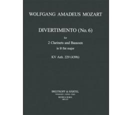 MOZART W.A. DIVERTIMENTO Nr. 4
