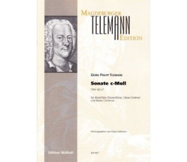 TELEMANN G.Ph. SONATE C MOLL