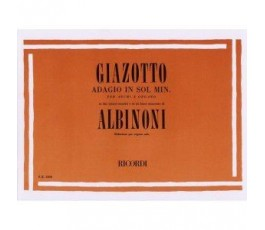 GIAZOTTO R. ADAGIO IN SOLm...