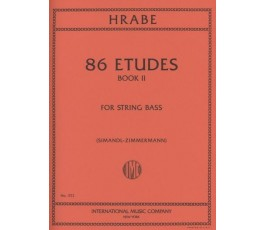 HRABE 86 ETUDES BOOK II FOR...