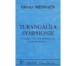 MESSIAEN O. TURANGALÎLA...