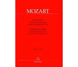 MOZART CONCERTO IN G MENOR