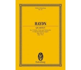 HAYDN Quartet Op.77/1