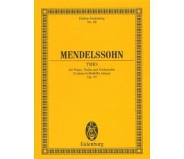 MENDELSSOHN TRIO Op. 49