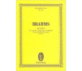 BRAHMS SEXTET Op. 36
