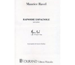 RAVEL M. RAPSODIE ESPAGNOLE