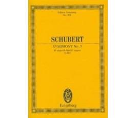 SCHUBERT SYMPHONY No. 5 D 485