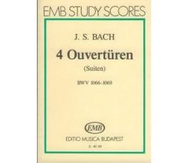 BACH J.S. 4 Ouvertüren BWV...