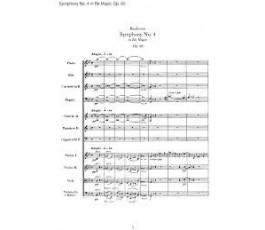 BEETHOVEN Symphonie IV op. 60