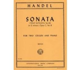 HANDEL SONATA IN G MINOR,...