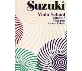 SUZUKI VIOLA SCHOOL VOLUME 3