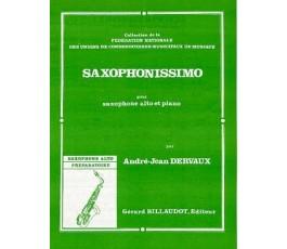 DERVAUX A.J. SAXOPHONISSIMO