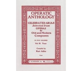 OPERATIC ANTHOLOGY VOL III...