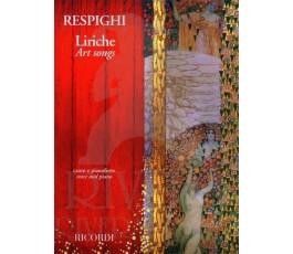 RESPIGHI LIRICHE ART SONGS