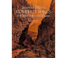 BRAHMS J. COMPLETE SONGS...