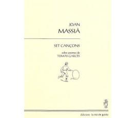 MASSIA J. SET CANÇONS sobre...
