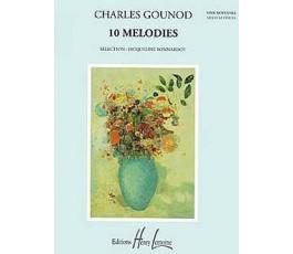 GOUNOD CH. 10 MELODIES