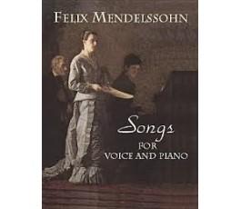 MENDELSSOHN F. SONGS FOR...