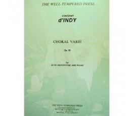 D'INDY V. CHORAL VARIE...