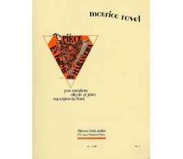 RAVEL M. PIECE EN FORME DE...