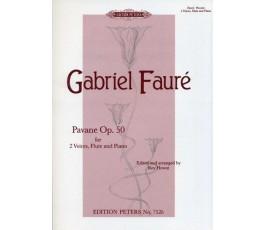 FAURÉ G. PAVANE Op. 50