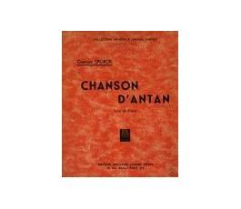 SPORCK G. CHANSON D'ANTAN
