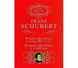 SCHUBERT F. PIANO QUINTET