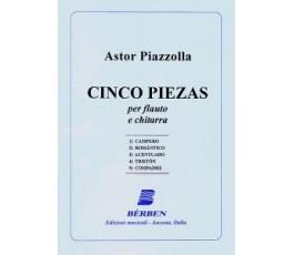 PIAZZOLLA A. CINCO PIEZAS