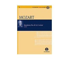 MOZART SYMPHONY No. 40 in G...