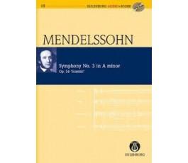 MENDELSSOHN SYMPHONY No. 3...
