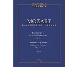 MOZART Konzert in C für...