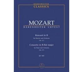 MOZART Konzert in B für...