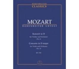 MOZART Konzert in D für...