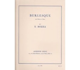 BOZZA E. BURLESQUE