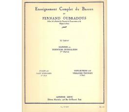 OUBRADOUS F. 1er CAHIER...