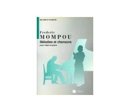 MOMPOU F. CINQ MÉLODIES