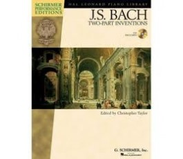 BACH J.S. TWO PART INVENTIONS