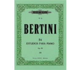 BERTINI 24 ESTUDIOS PARA...