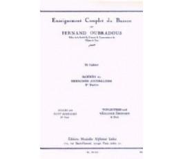 OUBRADOUS F. 2e CAHIER...
