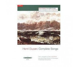 DUPARC H. COMPLETE SONGS...