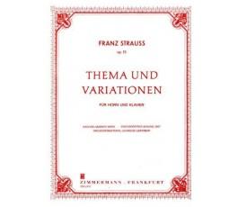 STRAUSS F. THEMA UND...