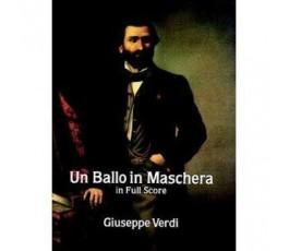 VERDI G. UN BALLO IN MASCHERA