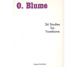 BLUME O. 36 STUDIES...