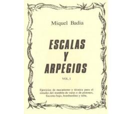 BADIA M. ESCALAS Y ARPEGIOS...