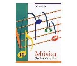 MÚSICA QUADERN D'EXERCICIS 10