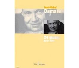 DAMASE JM. 24 ÉTUDES POUR...